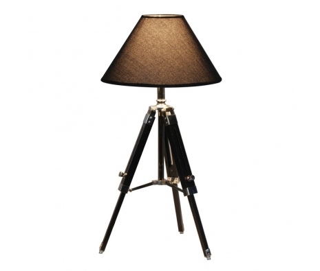 BonTon Tripod Table Lamp, Black made by Modish Accents & Accessories.