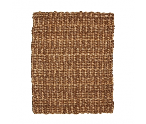 Naan Jute & Abaca Rug, 4' x 6'  made by Anji Mountain Rugs.