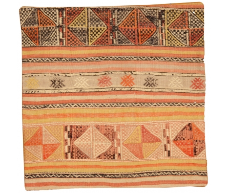 "28"" x 28"" Izmir Kilim Pillow Cover made by Kilim Pillows."