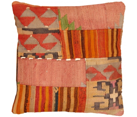 "19"" x 19"" Uzek Kilim Pillow made by Kilim Pillows."