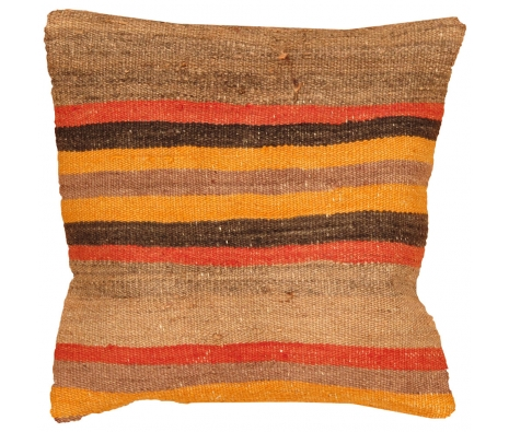 "16"" x 16"" Topraka Kilim Pillow made by Kilim Pillows."