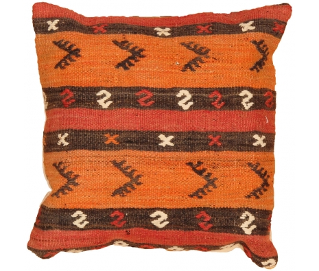 "16"" x 16"" Cankiri Kilim Pillow made by Kilim Pillows."