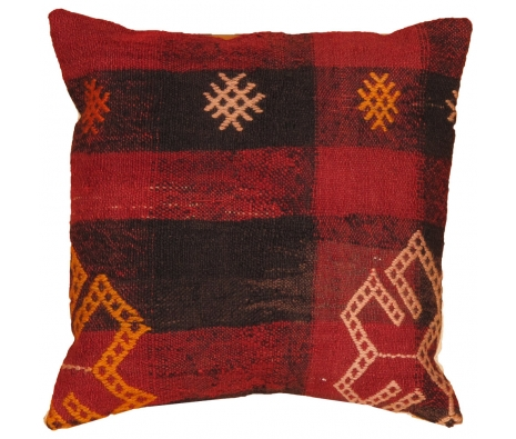 "16"" x 16"" Sekaya Kilim Pillow made by Kilim Pillows."
