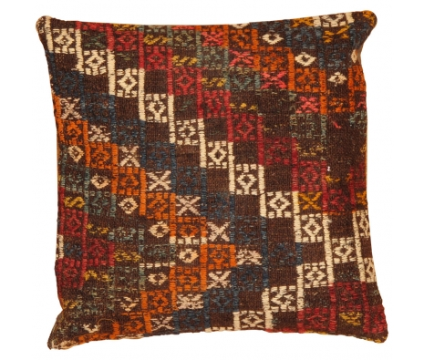 "16"" x 16"" Yildem Kilim Pillow made by Kilim Pillows."