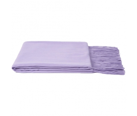 100% Cashmere Throw, Lavender made by Cashmere Heaven.