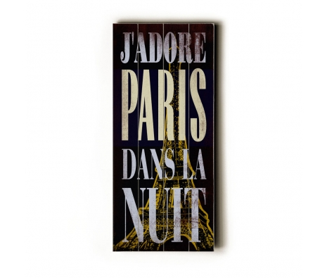 J'adore Paris Transit Sign made by Artehouse Transit.