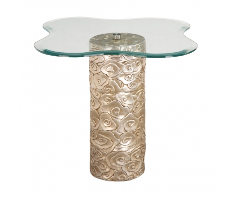 Giverny Floral Table made by Accent Furniture & Mirrors by Bailey Street .