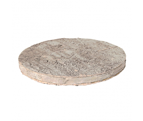 Round Birchbark Tray made by Barreveld.