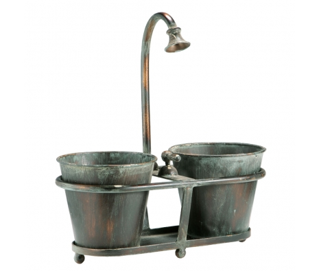 Richland Duo Planter  made by Rustic Finds .