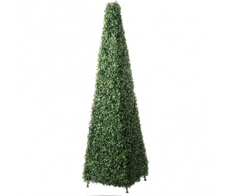 "58"" Colleton Boxwood Obelisk made by Topiaries, Outdoor Accents, & More."