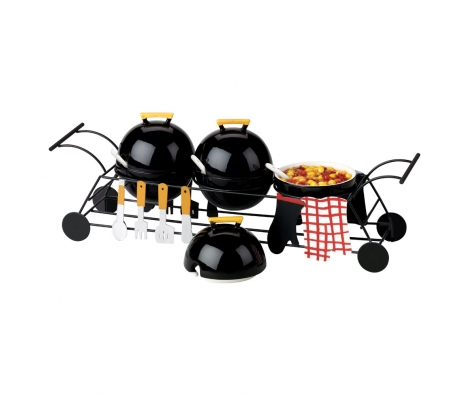 Picnic Party Condiment Serving Set made by Toast the Host.