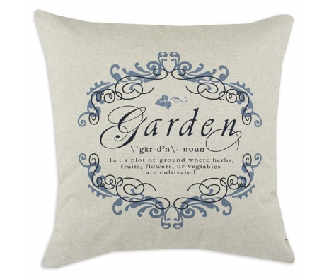 "Garden Gate 26"" x 26"" Pillow, Lilac made by Throw Pillows by Chooty & Co. ."