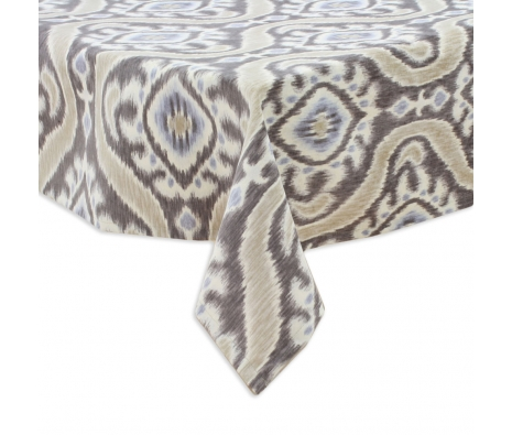 Uzbeck Tablecloth, Taupe made by Tabletop Decor.