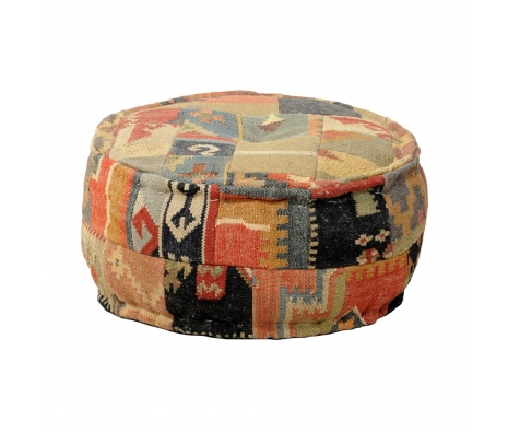 "24"" Casablanca Pouf made by Boho Chic Furniture & Accessories."