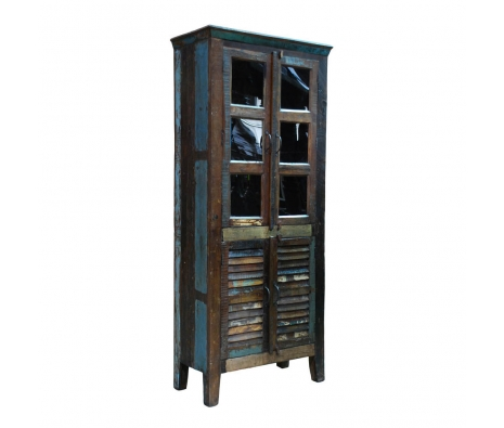 Azrou Tall Cabinet  made by Boho Chic Furniture & Accessories.