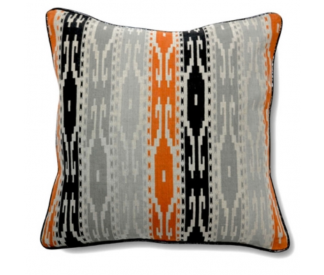 "18"" x 18"" Biarritz Pillow made by Boho Chic Pillows."