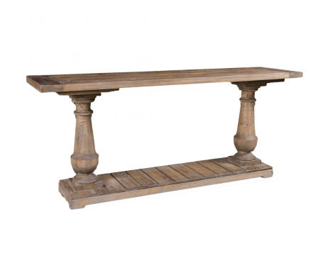 Stratford Console Table made by Rustic & Reclaimed Furniture .