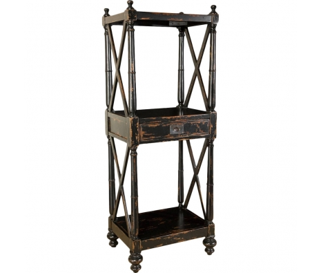 Isis Etagere made by Rustic & Reclaimed Furniture .