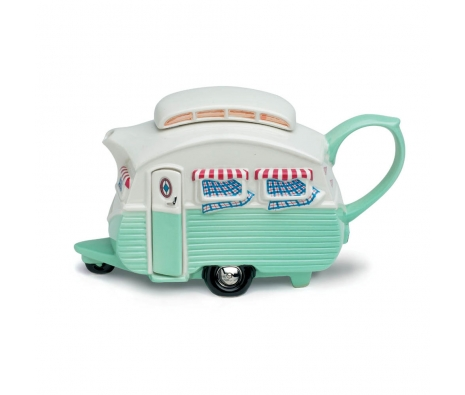 Teapottery – Touring Caravan made by Teapottery English Teapots .