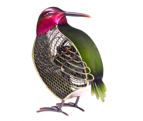 Hummingbird Figurine Fan, made by It's A Breeze .