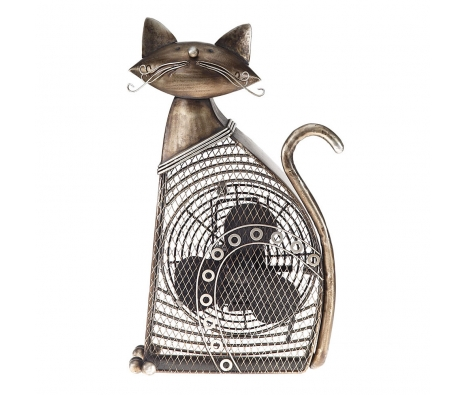 Cat Figurine Fan made by It's A Breeze .