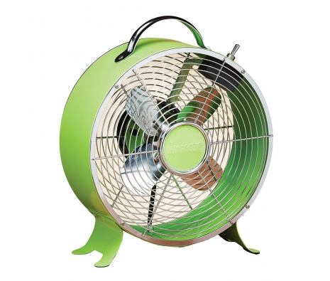 "9"" Retro Fan, Lime made by It's A Breeze ."