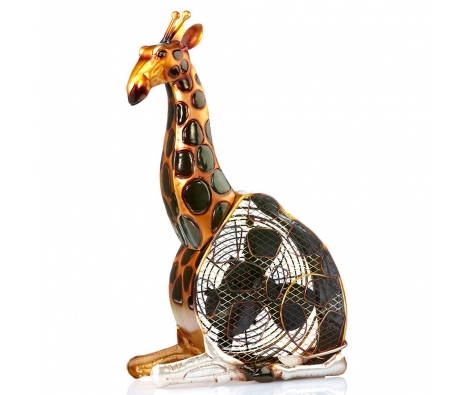 Giraffe Figurine Fan made by It's A Breeze .