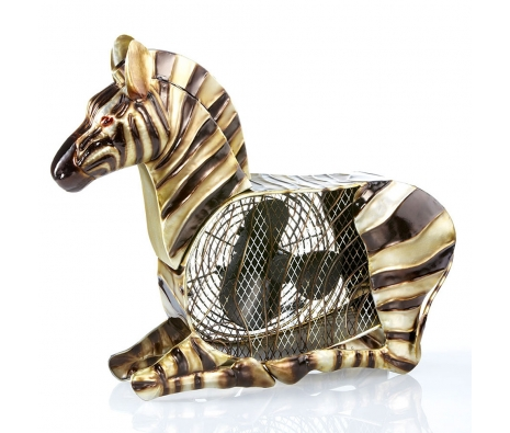 Zebra Figurine Fan made by It's A Breeze .