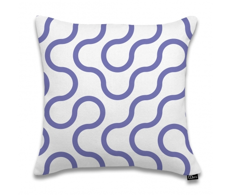 "17""x17"" Circuit Pillow, Violet made by DQtrs."