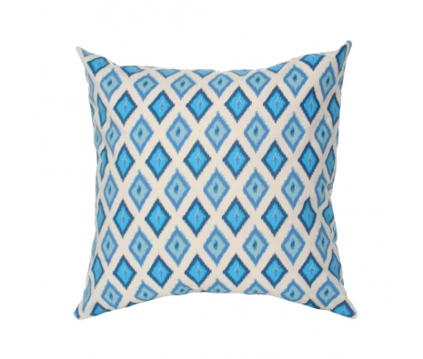"20"" x 20"" Jamul Pillow, Arctic Blue made by Elisabeth Michael ."