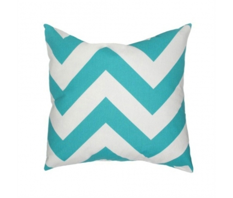 "20"" x 20"" Chilhowie Pillow, Turquoise made by Elisabeth Michael ."