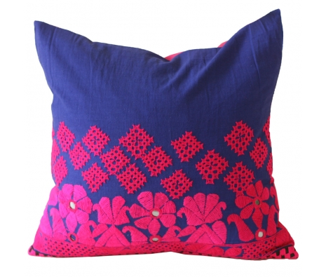 "20"" x 20"" Freston Pillow made by Vintage Sari Pillows, Throws, Totes & Rugs.."