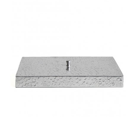 Dotted Rectangular Aluminum Box made by Metal Works.