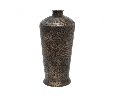 Recycled Iron Urn Vase made by Metal Works.