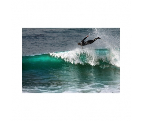 "Surf Leap, 16""x20"" made by Emily Goodman Photography."