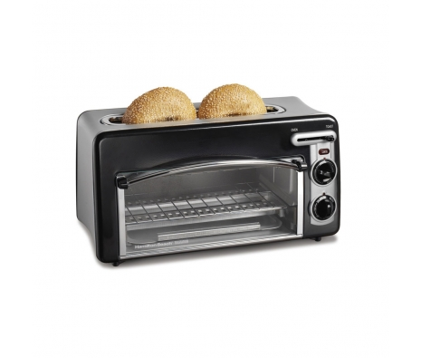 Toastation Toaster made by Countertop Appliances by Hamilton Beach .