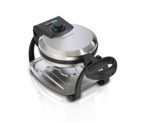 Rotating Belgian Waffle Maker made by Countertop Appliances by Hamilton Beach .