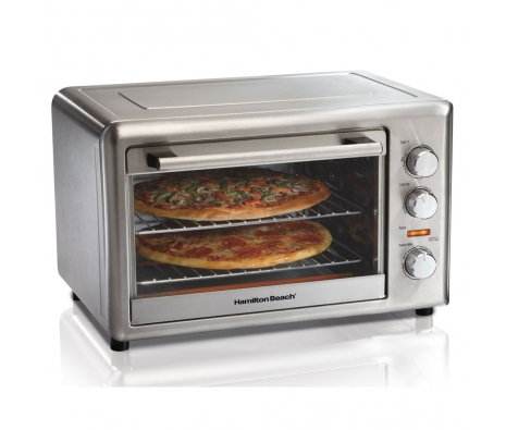 Convection & Rotisserie Countertop Oven made by Countertop Appliances by Hamilton Beach .