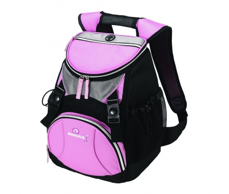 Pink Ribbon Backpack, Pink made by Outdoor Adventures.