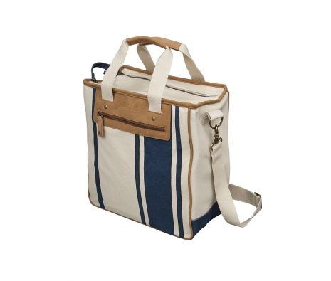 Newport Tote, Blue Stripes made by Outdoor Adventures.