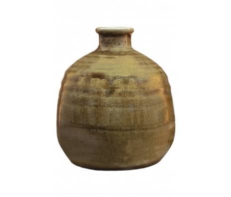 "8"" Gourdon Vase made by Chic & Classic Accents by Import Collection ."