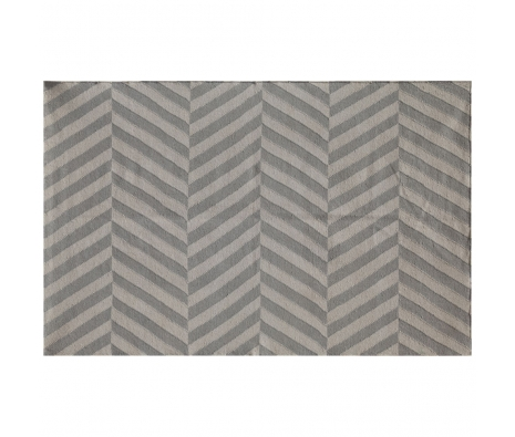 100% Wool Flatweave, Hardwick Rug, Classic Gray/Medium Gray made by Handwoven Flatweaves .