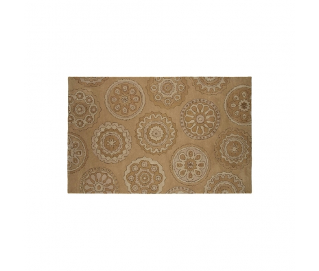 5' x 8' Madhya Rug, Tan made by Indoor/Outdoor Rugs .
