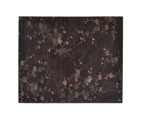 8' x 10' Assam Rug, Deep Charcoal made by Indoor/Outdoor Rugs .