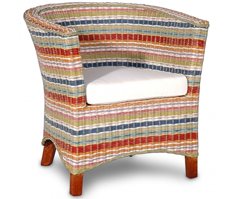 Funstripes U Club Chair made by Island Home .