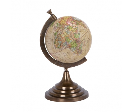 Antique Globe made by LDC Home .