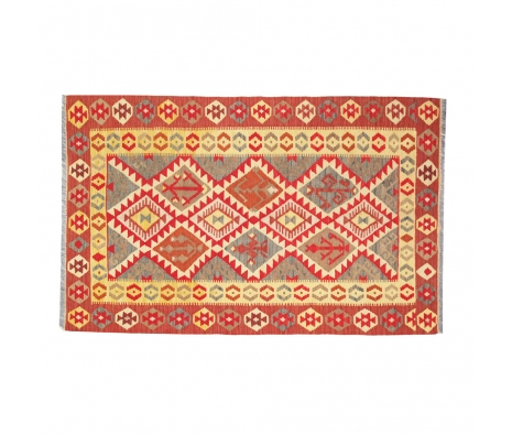 Nahrin Kilim Rug, 3' x 5' made by Turkish Inspired Kilims, Baskets & More.