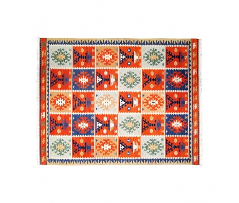 Onab Kilim Rug, 6' x 9' made by Turkish Inspired Kilims, Baskets & More.