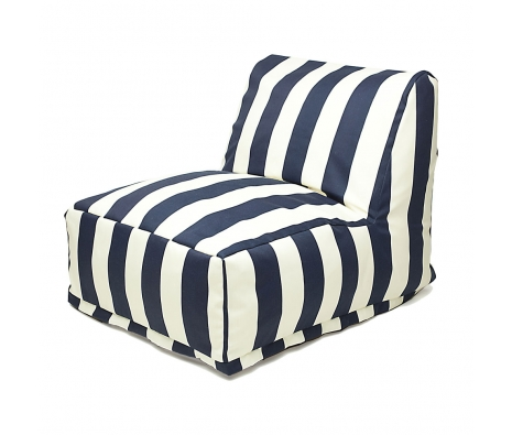 Amelia Beanbag, Navy made by Bean Bags  .