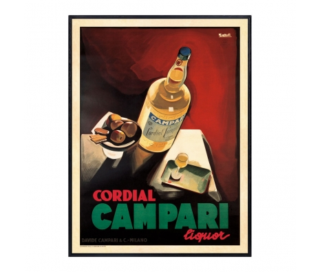 Campari made by Vintage Posters From Around The World.